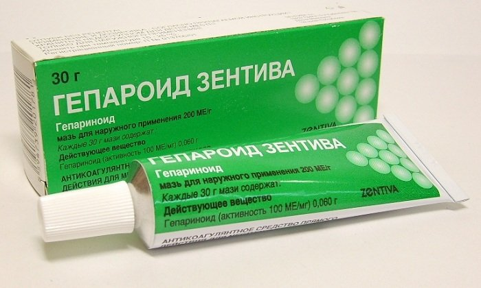 Гепароид Зентива - антитромботическое и противовоспалительное лекарство, способствующее устранению сгустков крови и экссудата