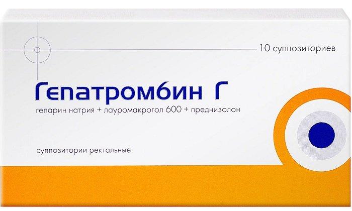 Гепатромбин предотвращает формирование тромбов и активно борется с воспалительным процессом