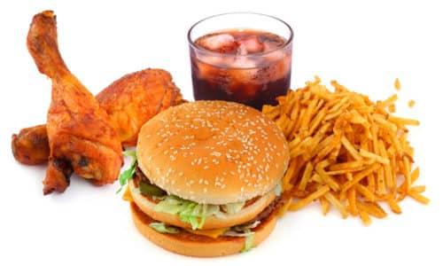 Неправильное питание пагубно влияет на потенцию
