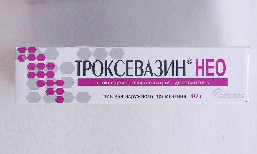 Мазь Троксевазин Нео включает в свой состав не только троксерутин, но и гепарин, препятствующий образованию тромбов