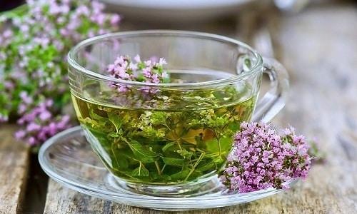 В борьбе с ослабленной эрекцией широко используется чай, приготовленный на основе чабреца