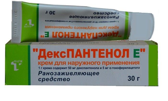Крем Декспантенол имеет однородную консистенцию, быстро поглощается эпидермисом, не оставляет на коже жирных следов