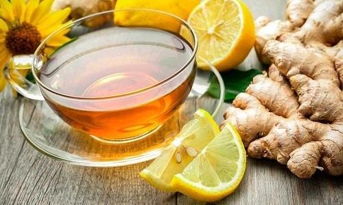 Чай с имбирем и лимоном - это отличная профилактика эректильной дисфункции