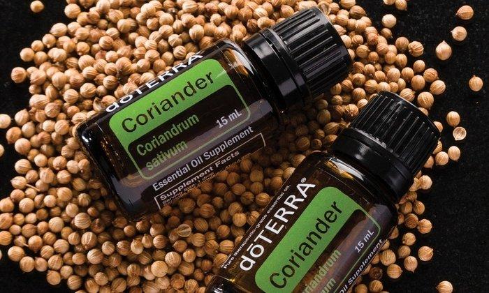 Эфирные масла в составе кориандра позволяют активно применять его в косметологии, пищевой промышленности и медицине