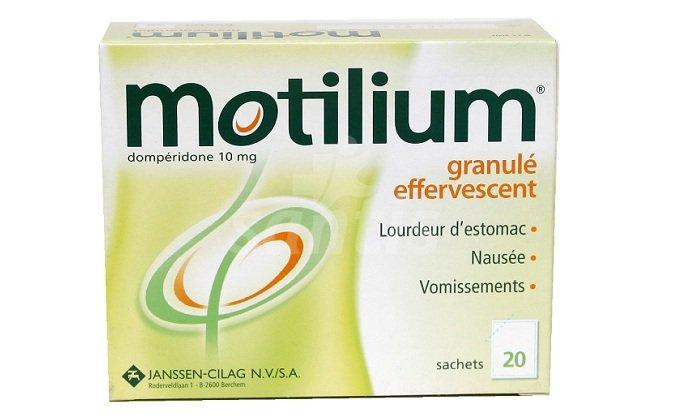 Таблетки Мотилиум расфасованы по 10, 30 штук в картонной упаковке