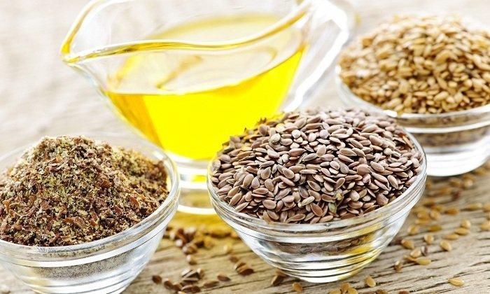 При геморроидальных узлах применяются не только семена, но и изготовленное из них масло