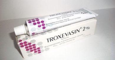 Результаты применения мази Троксевазин при геморрое