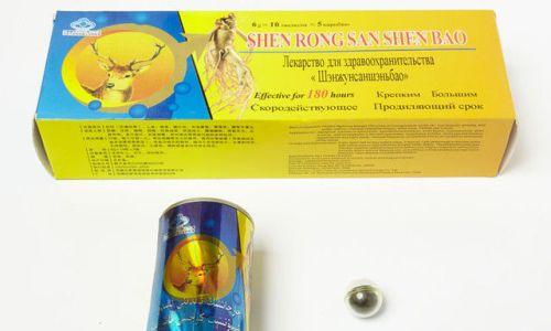 Хороший результат дает прием Шэнжунсаншэньбао при ослаблении потенции, сексуальной дисфункции