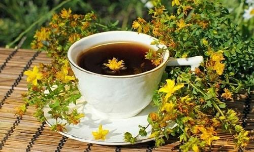Перед свиданием с женщиной мужчина может выпить чай из зверобоя