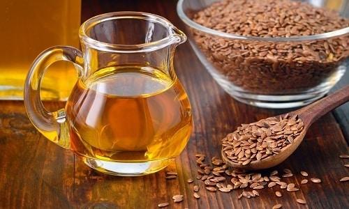 Льняное масло используется при терапии простатита