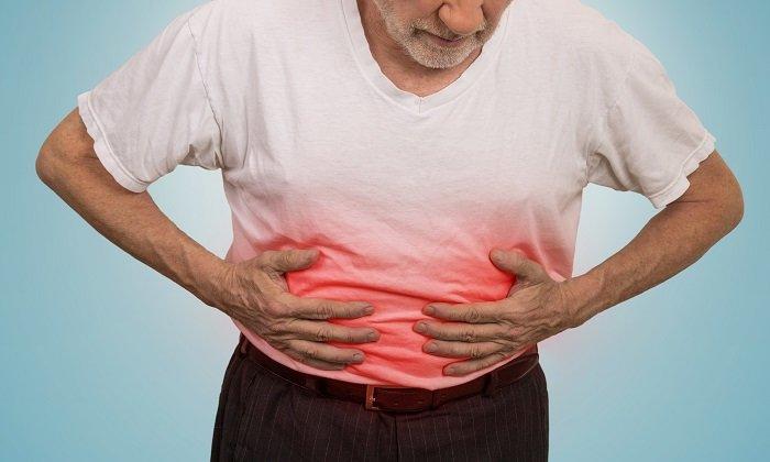 Аекол может вызывать боль в животе