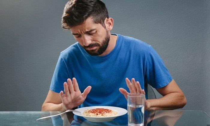 Во время приема препарата наблюдается снижение аппетита