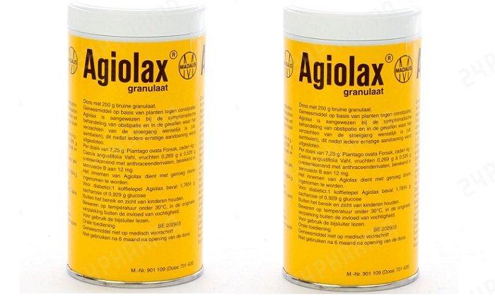 Аналогичным действием обладает препарат Агиолакс