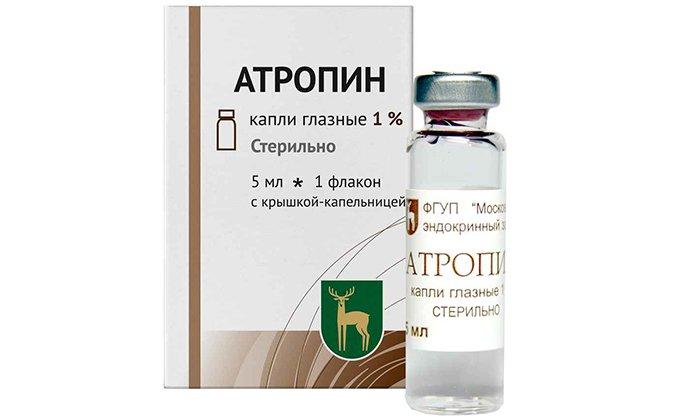 Атропин снижает всасывание активных компонентов суппозиториев Гемороля