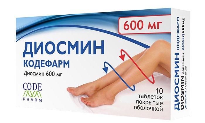 Диосмин - это ангиопротектор, который содержит в своем составе природные активные вещества диосмин и флавоноиды (гесперидин)