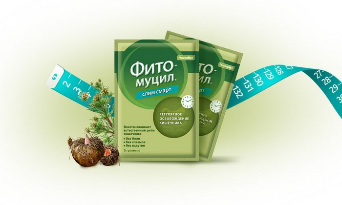Фитомуцил Слим Смарт используется преимущественно для похудения