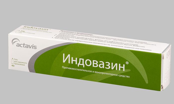 Усиленным противовоспалительным действием обладают такие препараты как Индовазин за счет введения в их состав индометациновой добавки