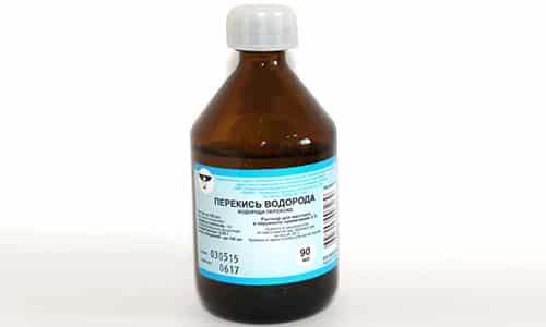 Перекись водорода используется для лечебных ванночек, клизм
