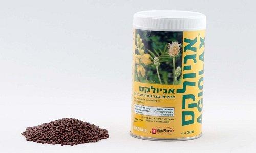 Семена действующих веществ при связывании с водой разбухают и увеличивают объем кишечника больного