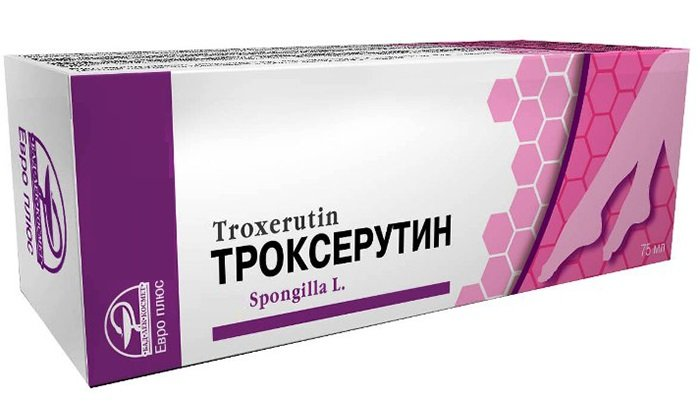 Основным веществом является троксерутин, его содержание на 100 г составляет 2 г