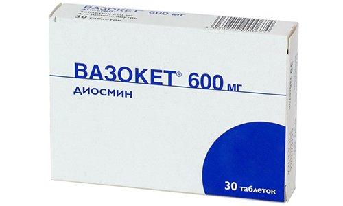 Препарат Вазокет относится к средствам, влияющим на сердечно-сосудистую систему