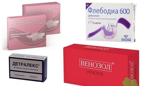 Аналоги Препарата - Венозол, Детралекс, Венарус, Флебодиа