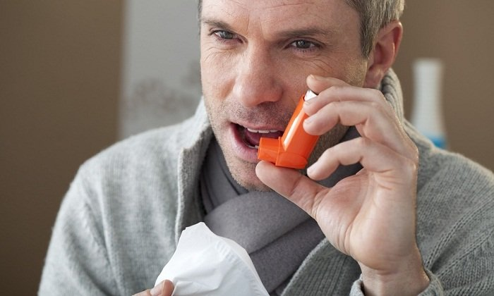 Возможно обострения астмы