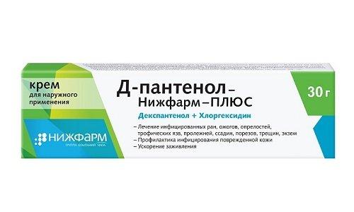 Д-пантенол-Нижфарм-ПЛЮС идентичен Депантолу по составу. Препарат эффективно уничтожает большинство грамположительных, грамотрицательных бактерий, а еще дерматофиты, дрожжеподобные грибы