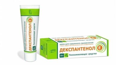 Средство для наружного применения Декспантенол Е благодаря своему составу имеет сильное восстанавливающее и противовоспалительное действие и помогает при многих проблемах с кожей и слизистыми