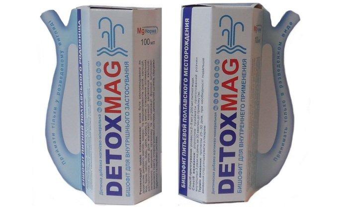 Детоксмаг — дополнительный источник магния, улучшает функционирование органов ЖКТ, сердечно-сосудистой и нервной системы