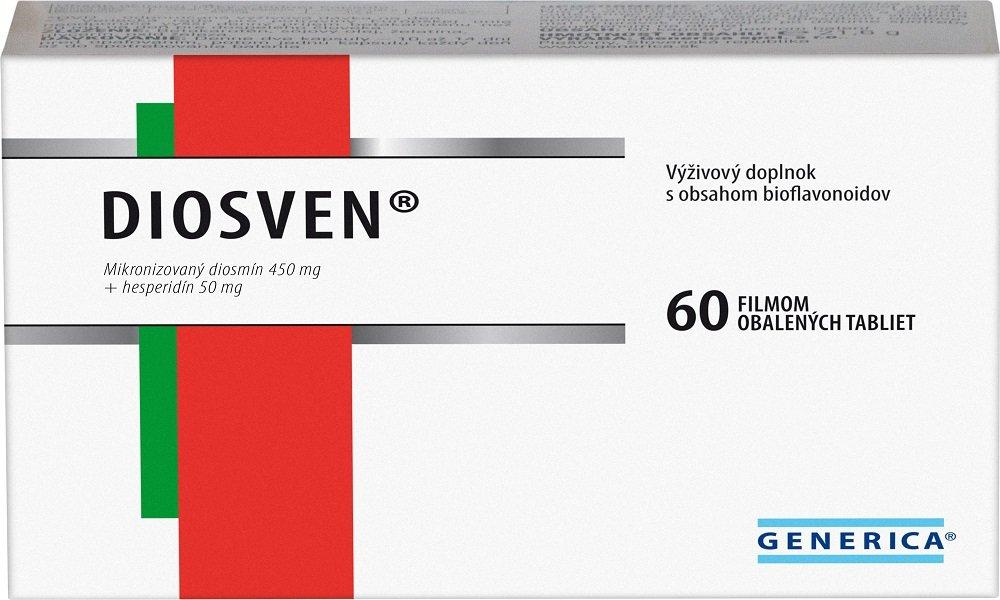 Диосвен является аналогом Флебофы и помогает поддерживать тонус вен
