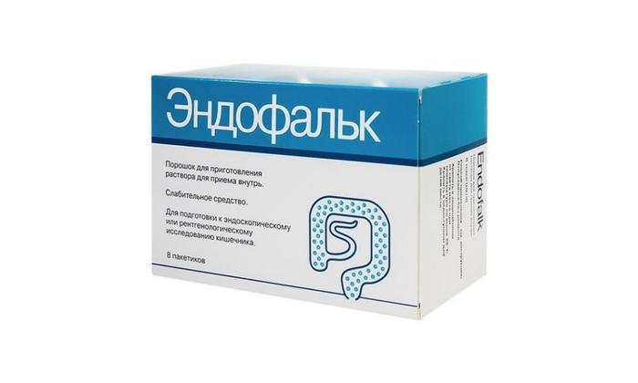 Эндофальк не допускает всасывания в кровь жидкости из кишечника
