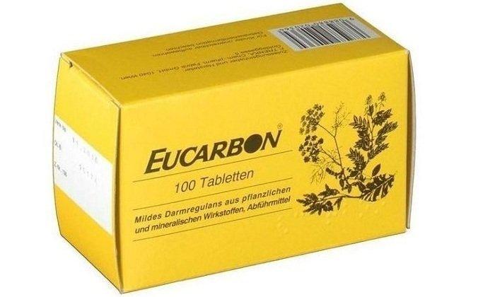 Сенна и ревень в составе Эукарбона способствуют ускорению эвакуации кишечного содержимого