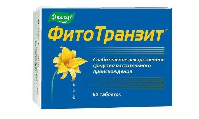 В состав таблеток Фитотранзит входят высушенные слоевища ламинарии. Применяется при запорах. При беременности, нефрите и геморрагическом диатезе принимать противопоказано