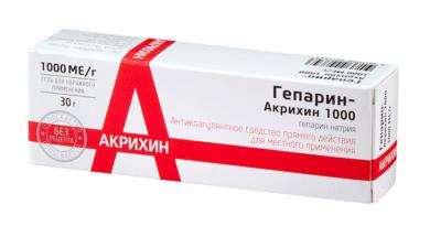 Действие препарата Гепарин-Акрихин при геморрое