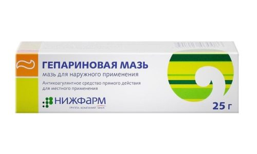 В комплексном лечении варикозной болезни часто используется Гепариновая мазь или Троксевазин