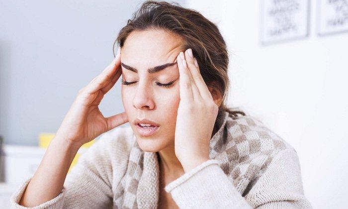 Побочным эффектом может быть мигрень и головная боль