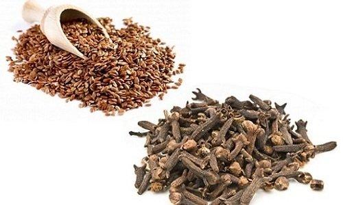 Семена льна и гвоздику в лечебных и профилактических целях применяют в нетрадиционной медицине уже долгие годы