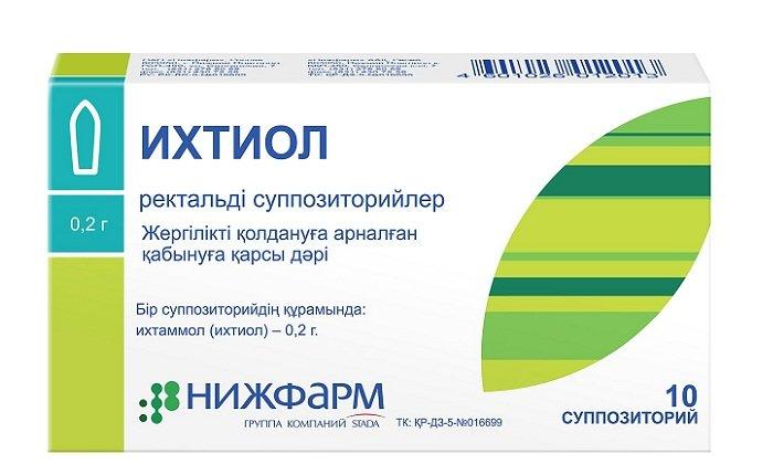 Результаты применения Ихтиола при геморрое