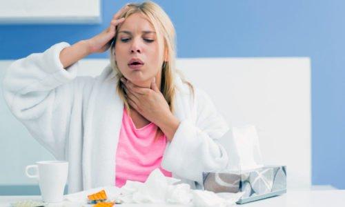 Если приступы сухого кашля за неделю не исчезли, необходимо пойти на прием к терапевту