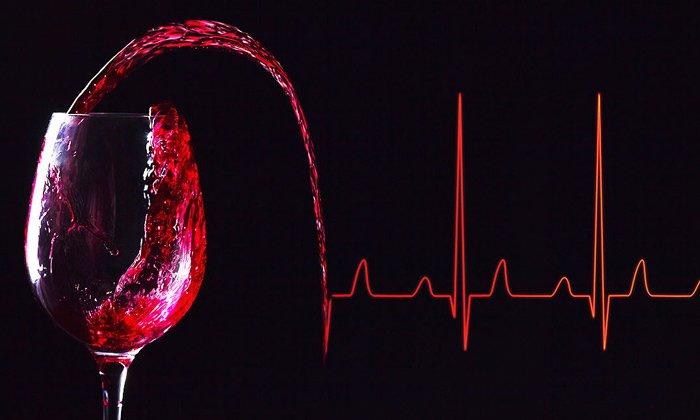 Богато рутином красное вино