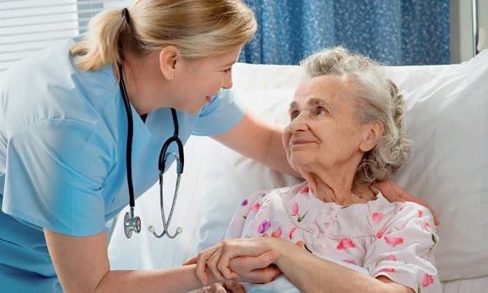 Осторожно средство назначается для пожилых пациентов