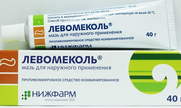Левомиколь - комбинированный препарат, в состав которого включен антибиотик (хлорамфеникол) и иммуностимулятор (метилурацил)