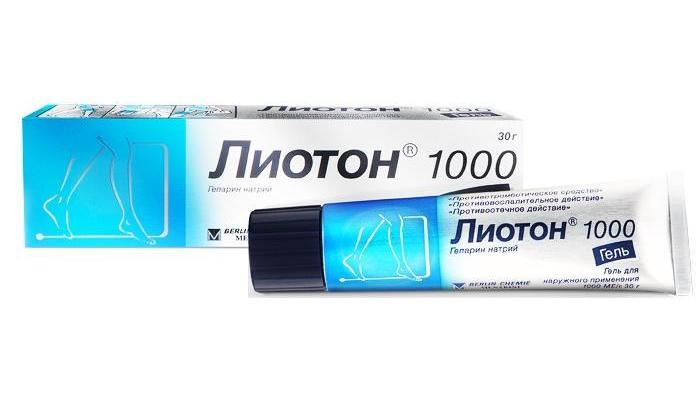 Лиотон - аналог геля Троксерутин