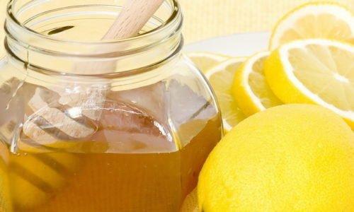 Смесь лимона, меда и глицерина применяется при ОРЗ, гриппе, инфекциях органов дыхания