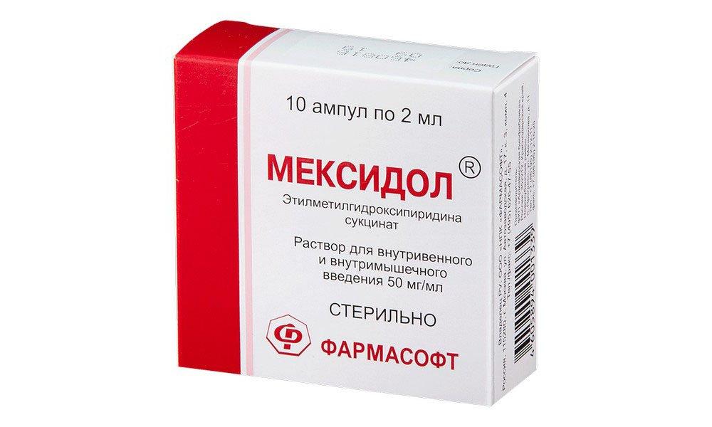 Мексидол положительно воздействует на клеточные мембраны.