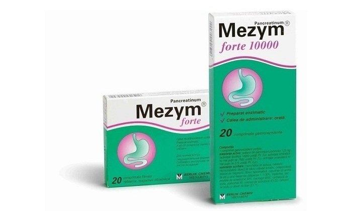 Действие Мезима направлено на компенсацию недостаточности выделяемых ферментов поджелудочной железой