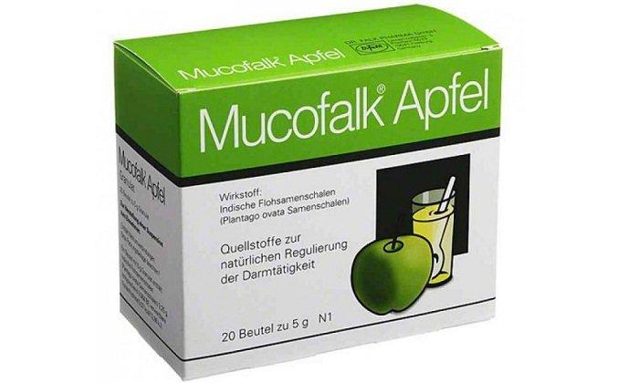 Похожим механизмом действия обладает препарат Мукофальк