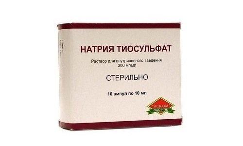 Натрия тиосульфат применяют в гинекологии, проктологии, терапии, аллергологии и дерматологии