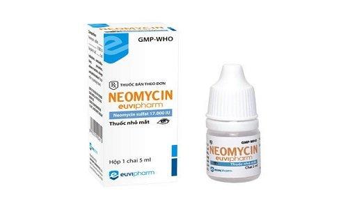 Неомицин производится также в форме капель, которые хорошо помогают при бактериальных конъюктивитах